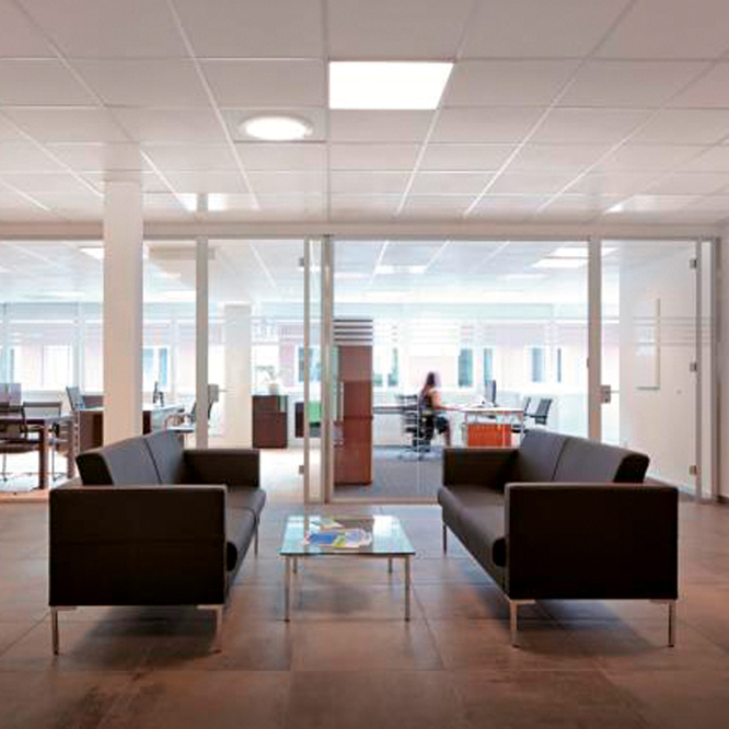 Herschel Select 600x600mm White Ceiling Mounted - Commercial