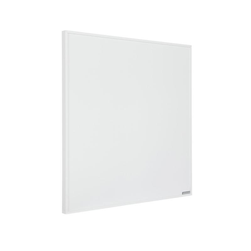 Herschel Select XL 600x600mm 300W White Frameless Far Infrared Panel Heater Right Angle