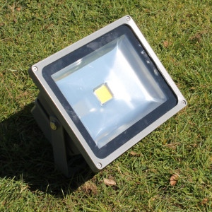 Image of exterior floodlight - SaveMoneyCutCarbon - Green Office Week