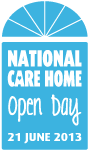 National Care Homes Open Day 2013 logo - SaveMoneyCutCarbon