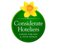 Considerate Hoteliers logo- SaveMoneyCutCarbon-member