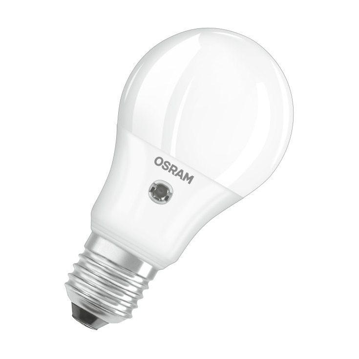 osram led parathom classic a bulb frosted e27 10w 2700k daylight sensor. Black Bedroom Furniture Sets. Home Design Ideas