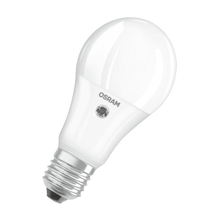 osram led parathom classic a bulb frosted e27 8 5w 2700k. Black Bedroom Furniture Sets. Home Design Ideas