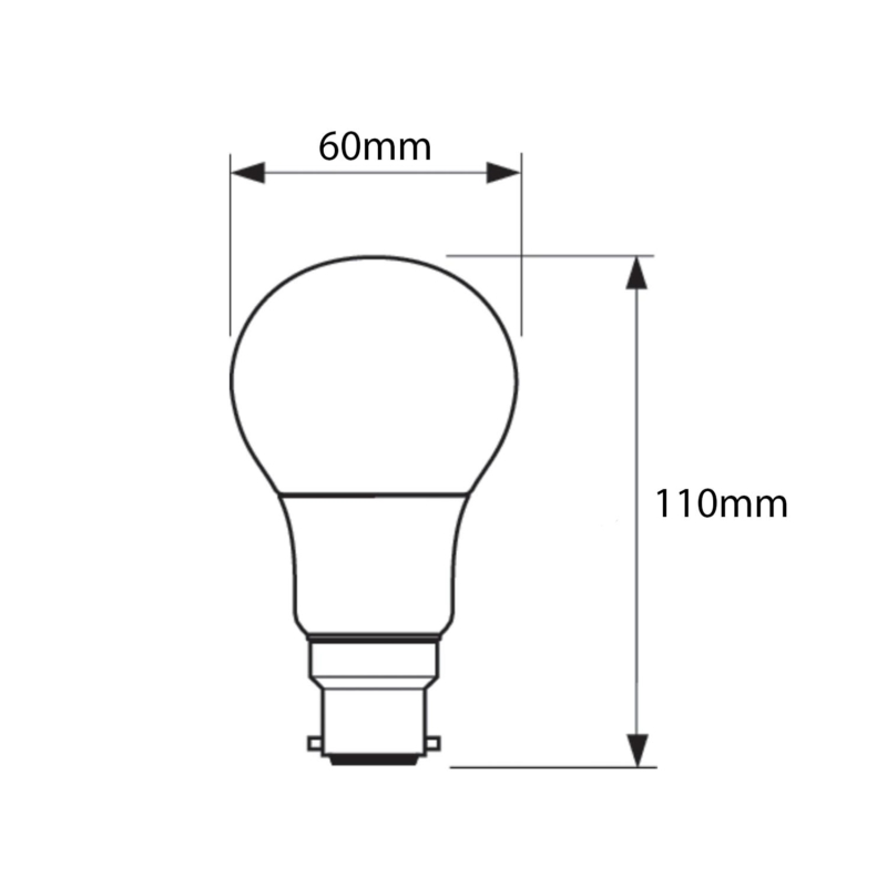 Philips-CorePro-LED-A60-Bulb-Frosted-B22-8W-2700K-929001233902-Dimensions
