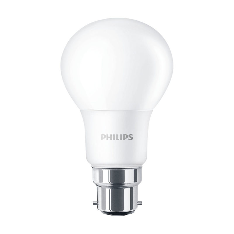 Philips CorePro LED A60 Bulb Frosted B22 8W 929001233902 Main