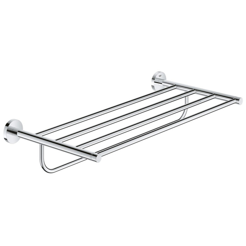 Grohe Essentials Multi Bath Towel Rack Chrome 40800001 Main