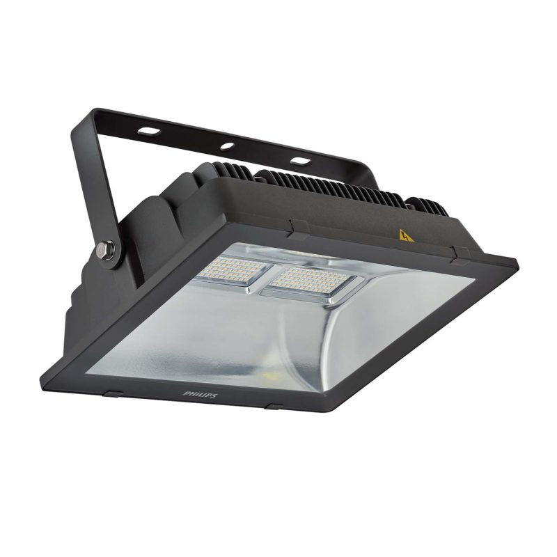 Philips BVP106 LEDINAIRE LED Floodlight 100W 912401483114 - Angle