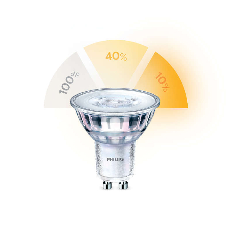 Philips SceneSwitch LED Spotlight Bulb GU10 929001346058 Main