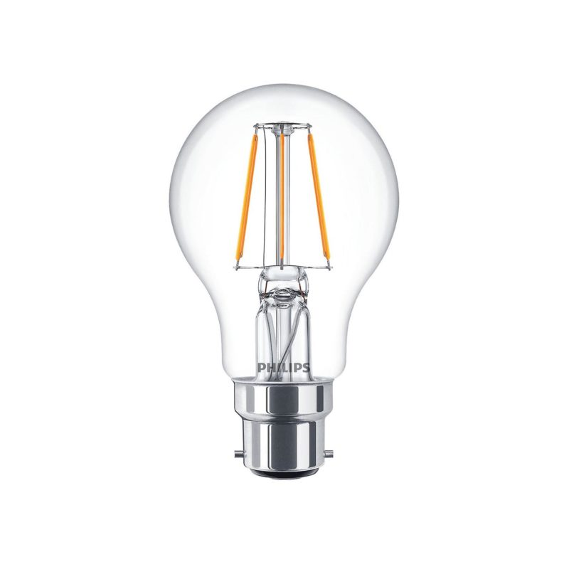Philips LED Filament Bulb Clear A60 B22 - 929001237502 Main