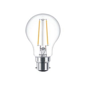 Philips LED Filament Bulb Clear A60 B22 - 929001331102 Main