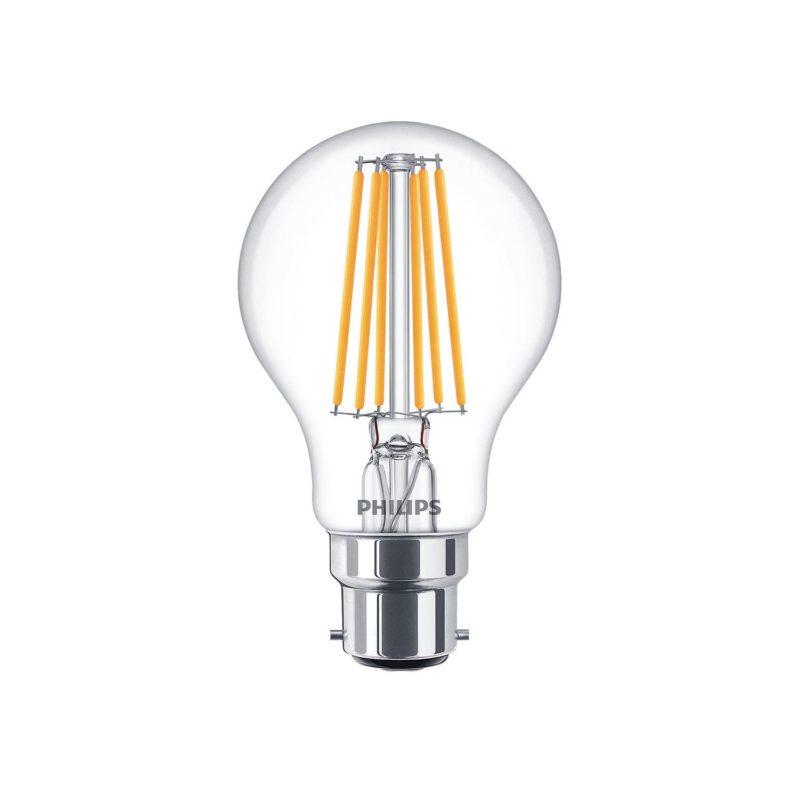 Philips LED Filament Bulb Clear A60 B22 - 929001384202 Main