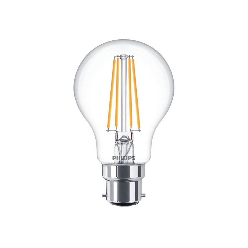 Philips LED Filament Bulb Clear A60 B22 - 929001387402 Main