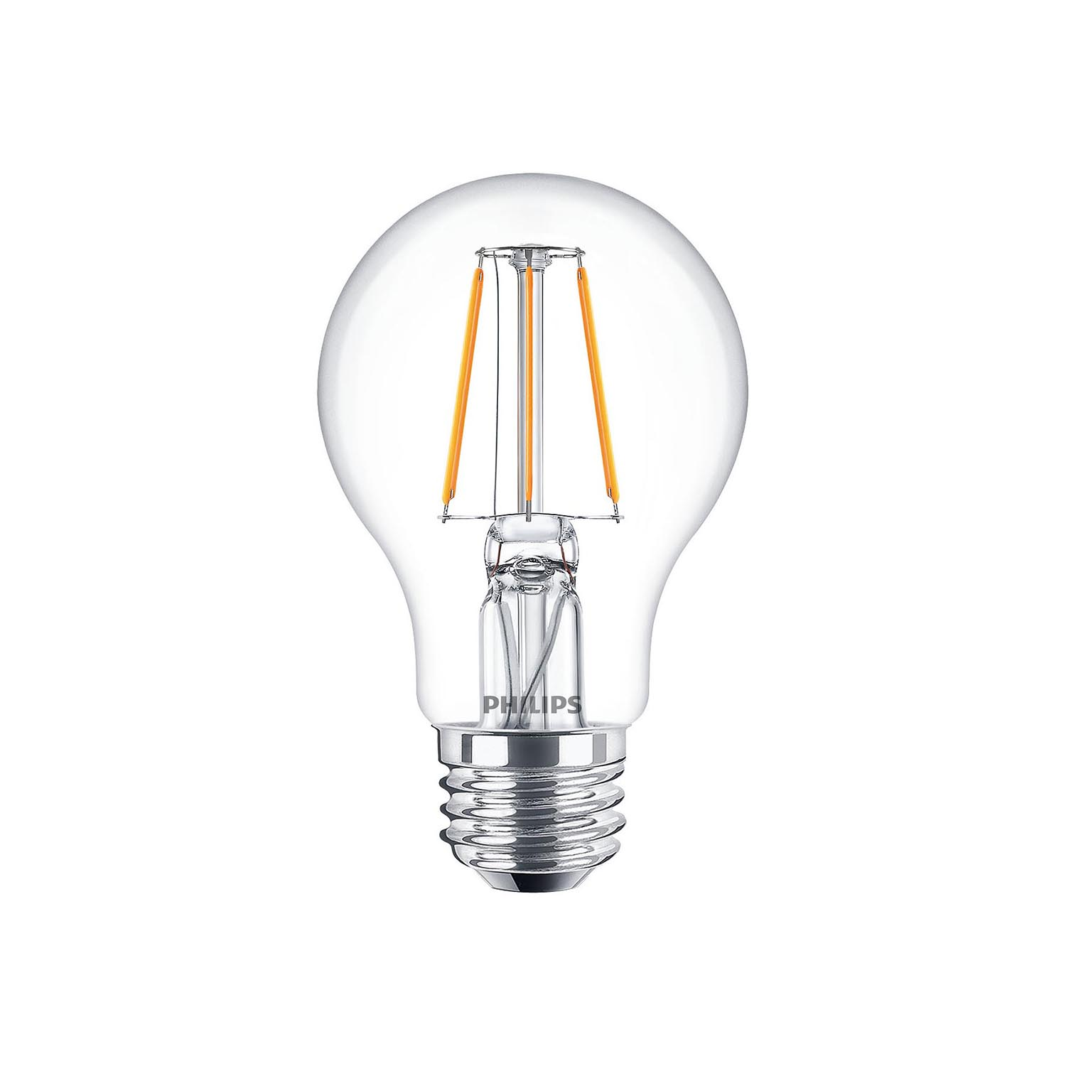 philips led filament bulb clear a60 e27 4w 2700k. Black Bedroom Furniture Sets. Home Design Ideas