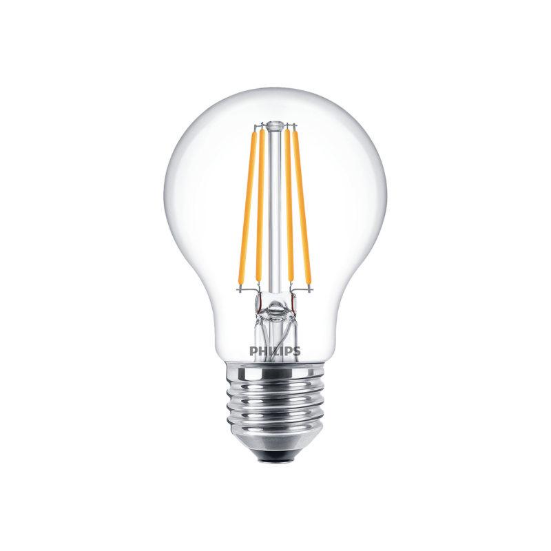 Philips LED Filament Bulb Clear A60 E27 - 929001331202 -Main