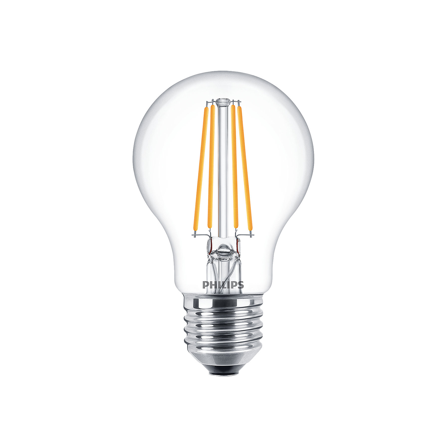 philips led filament bulb clear a60 e27 8w 2700k. Black Bedroom Furniture Sets. Home Design Ideas