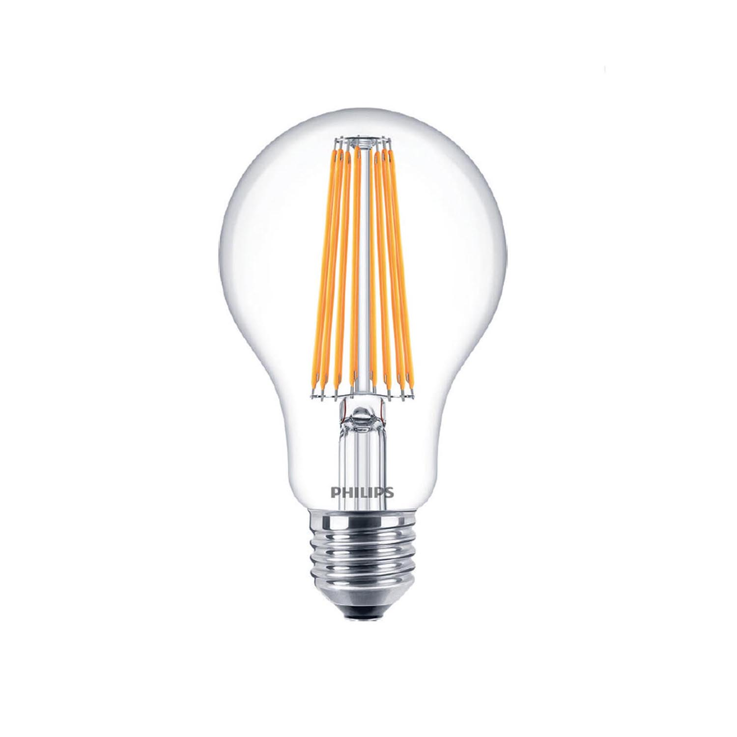 philips led filament bulb clear a60 e27 11w 2700k. Black Bedroom Furniture Sets. Home Design Ideas