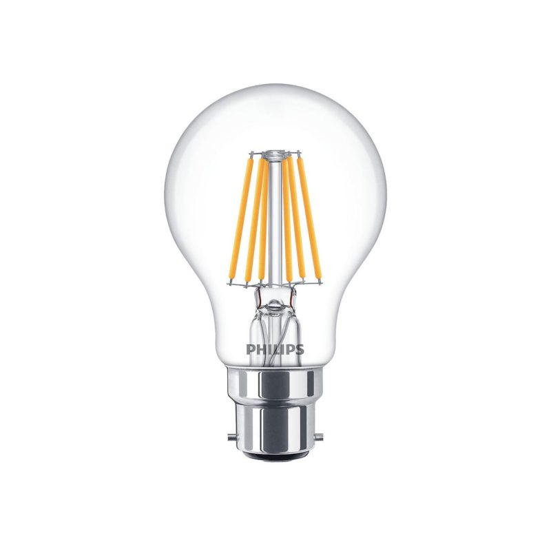 Philips LED Filament Bulb DimTone Clear A60 B22 - 929001333702 Main