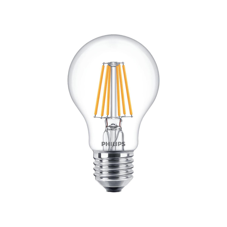 philips led filament bulb dimtone clear a60 e27 5 5w 2200 2700k. Black Bedroom Furniture Sets. Home Design Ideas