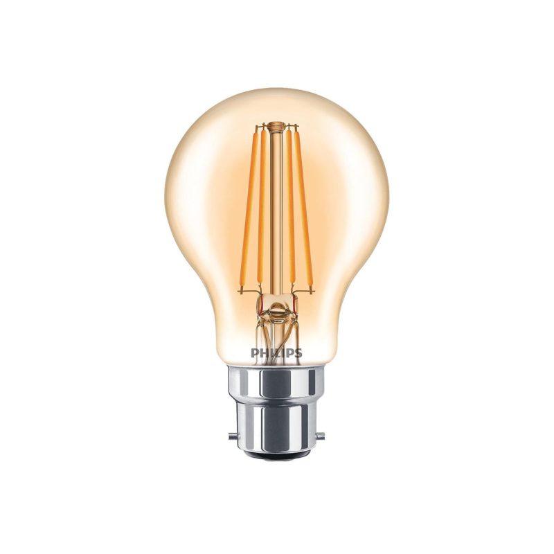 Philips LED Filament Bulb Gold A60 B22 - 929001333002 Main