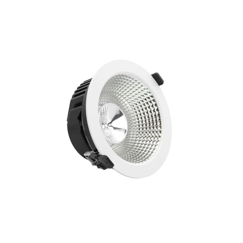 Verbatim LED Recessed Downlight INDIRECT_52508_Angled