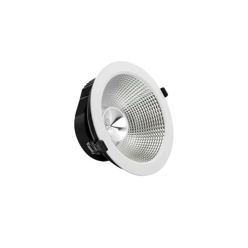 Verbatim LED Recessed Downlight INDIRECT_52510_Angled