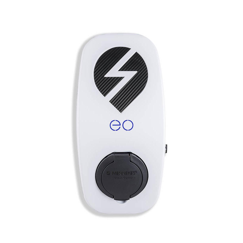 EO Genius EV Charger 7 2kW 32 Amp Single Phase Type 2 White