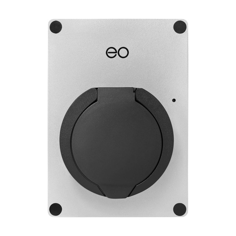 EO Mini EV Charger Silver - Main