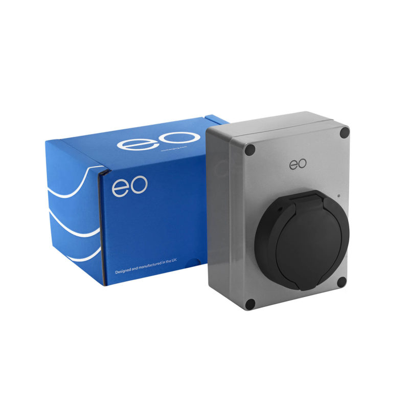 EO Mini EV Charger Silver - Package