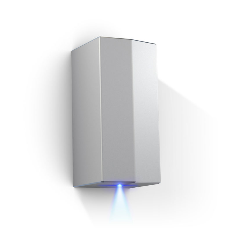 Veltia Crystal Air Hand Dryer Silver-VACRYSTAL002-Main