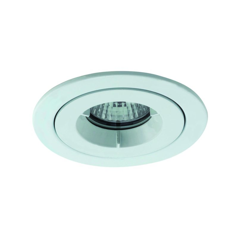 Ansell iCage Mini Downlight GU10 Fitting White IP65 AMICD-IP65-W Main