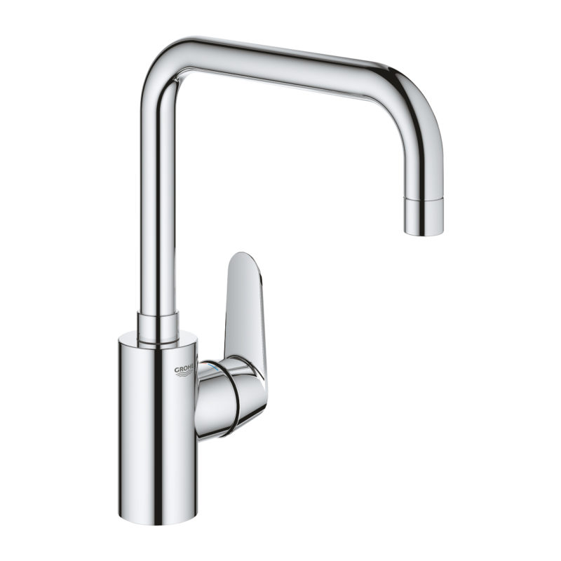 Grohe Eurodisc Cosmopolitan Single Lever Swivel U Spout Kitchen Tap -32259003 - Main