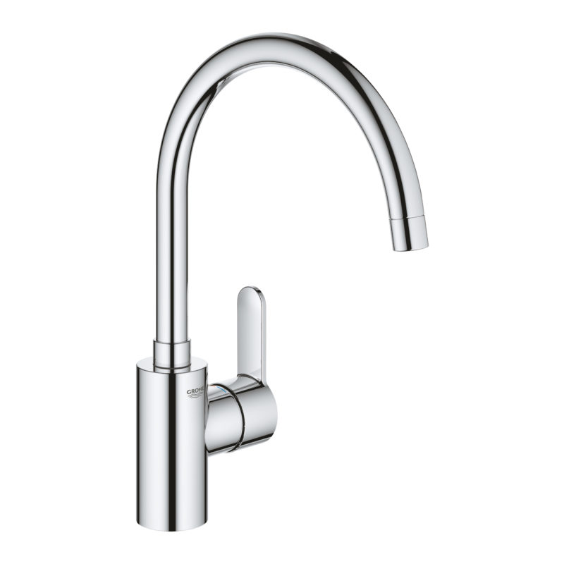 Grohe Eurostyle Cosmopolitan Single Lever Swivel Spout 360 Chrome Kitchen Mixer Tap - 33975004 - Main