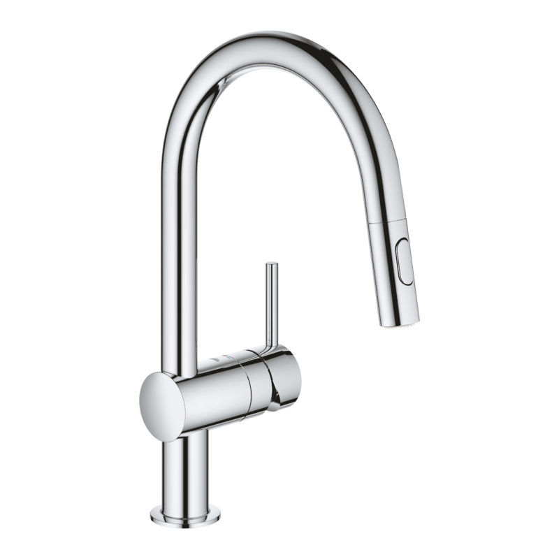 Grohe Minta Single Lever Swivel Spout 360 Kitchen Tap - 32321002 - Main