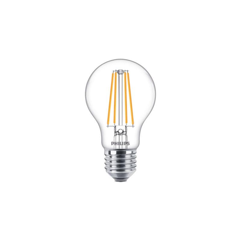 Philips Decorative LED Filament Bulb Clear A60 8W 929001888902 - Main
