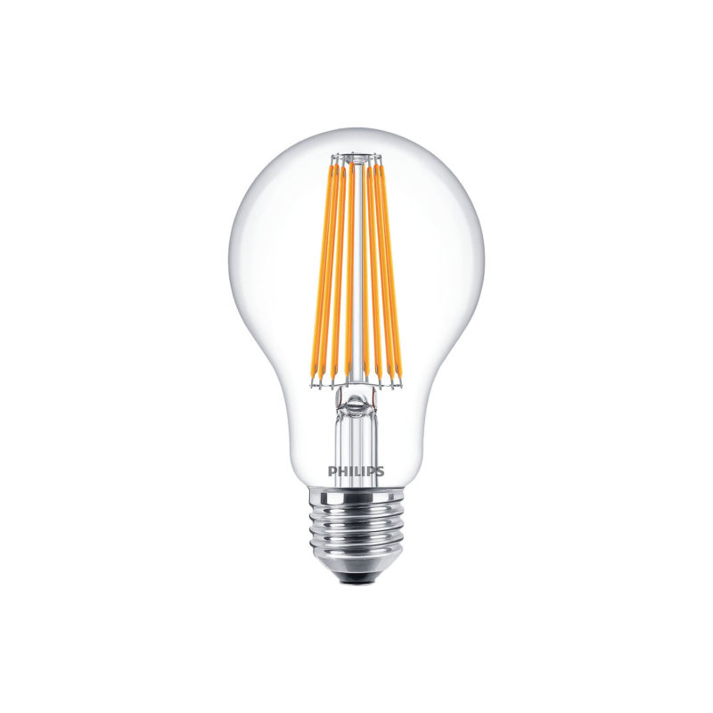 Philips Decorative LED Filament Bulb Clear A67 11W 929001889202 - Main