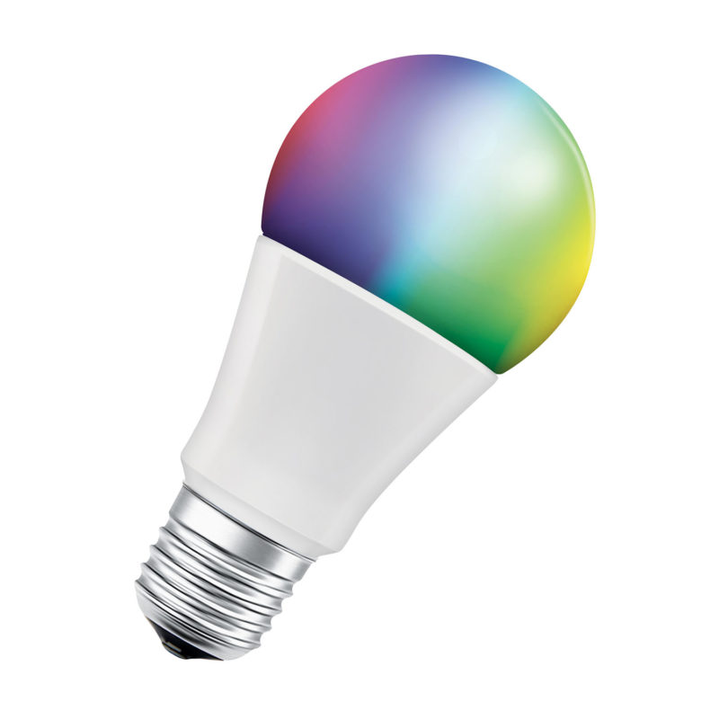 Ledvance Smart+ LED A60 Bulb E27 10W Multicolour RGBW Bluetooth - 4058075208469 - Main