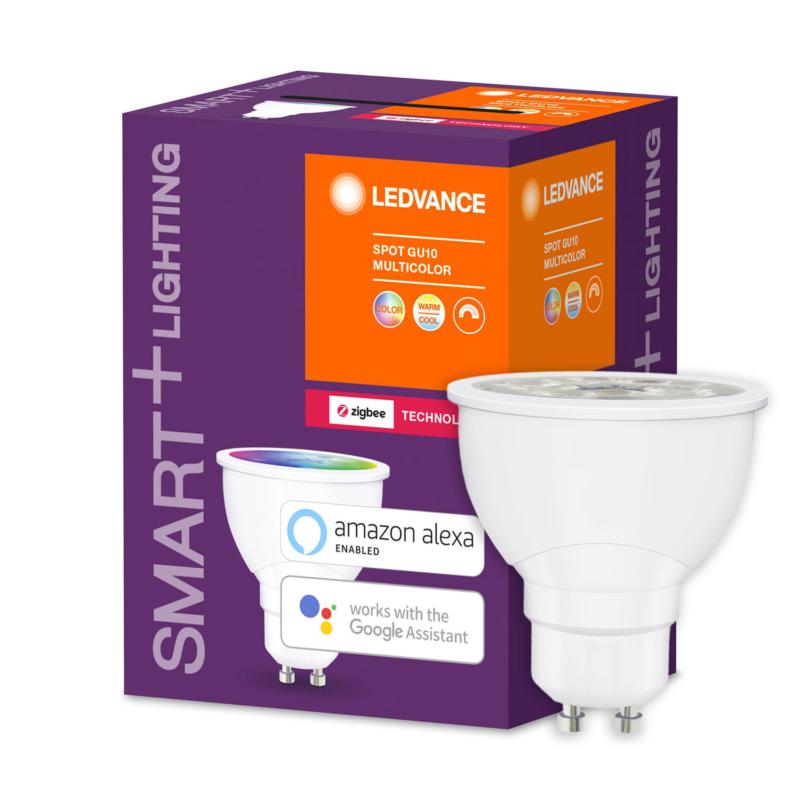 Ledvance Smart+ LED Spot Bulb GU10 5.5W Tunable White RGB ZigBee - 4058075208445 - Main2