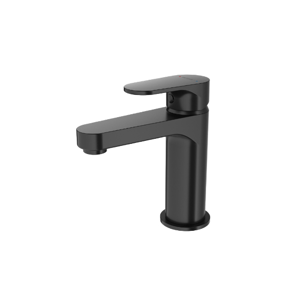 Methven Breeze Single Lever Basin Mixer Matte Black-BRBBKUK-Main