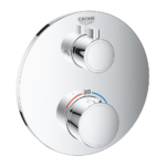Grohe Grotherm Thermostatic Shower Mixer Two Outlets for Concealed Installation 24076000 - Main