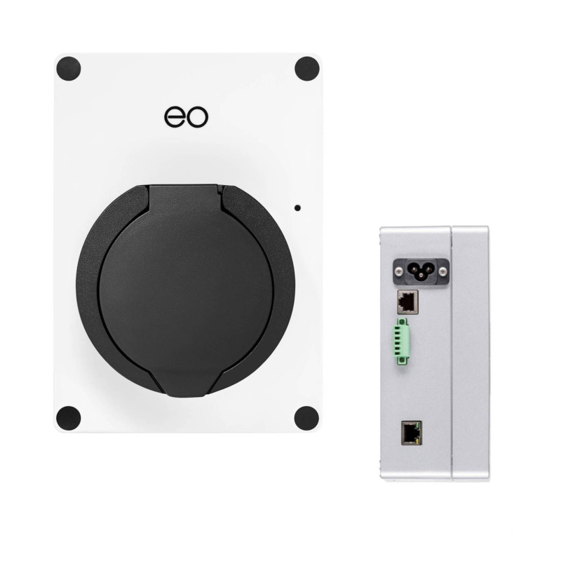 EO Mini Smart EV Charger White - Main