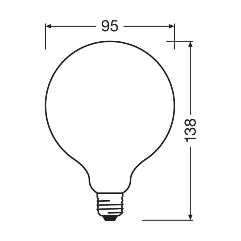 Ledvance-E27-4058075-439030-439054-Dimensions
