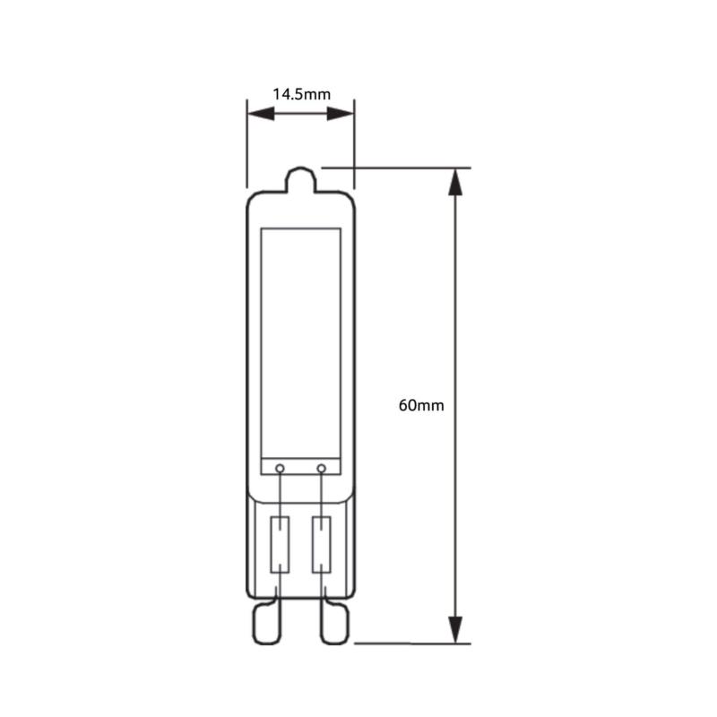 Philips-CorePro-LED-Capsule-Bulb-G9-929002326502-Dimensions