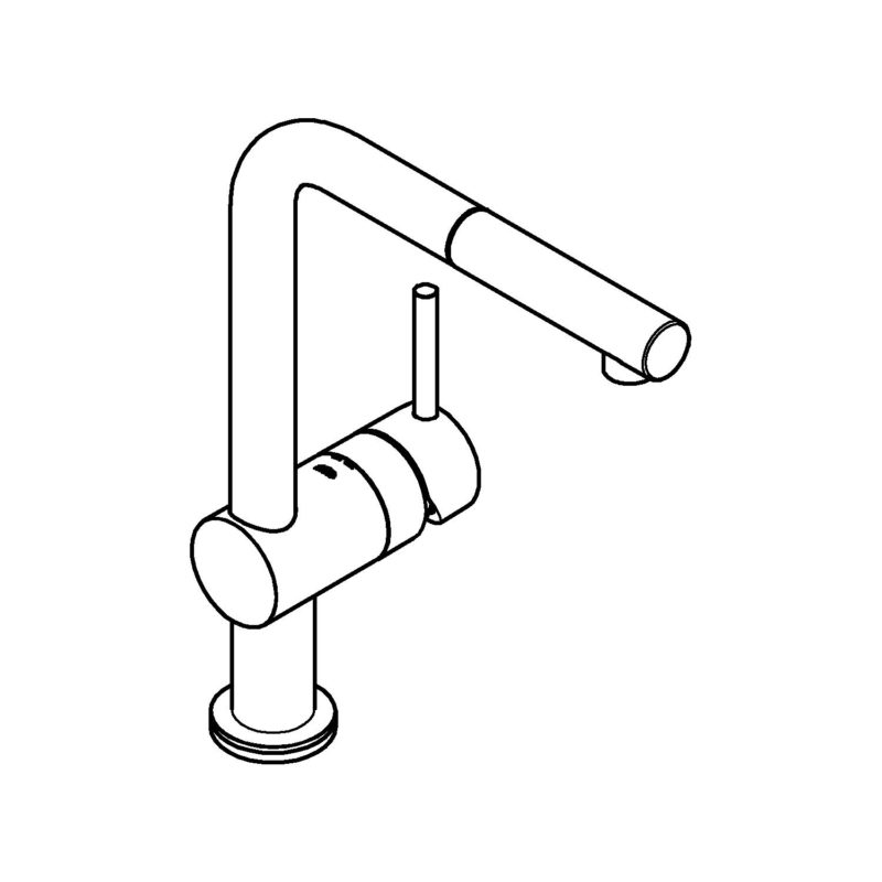 Grohe Minta Touch Sink Mixer Single Le