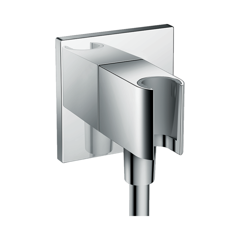 hansgrohe Fixfit Porter Square Wall Outlet 26486000 main