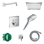 hansgrohe full shower set with I box-88102007-main