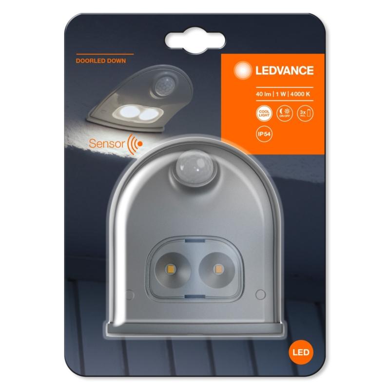DoorLED Down Silver 4058075267824 packaging