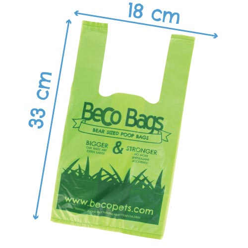 Beco Pets Poop Bags BBGH-120 Dimension
