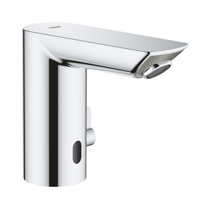 Grohe Bau Cosmopolitan E Electronic Battery Powered Temperature Control Sensor Tap 36451000 main