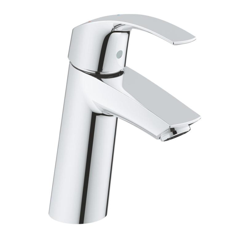 Grohe Eurosmart Single Lever M-Size Basin Mixer Tap Chrome without Waste Set 2339510E main