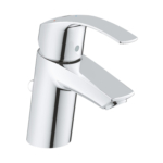 Grohe Eurosmart Single Lever S-Size Basin Mixer Tap Chrome with Pop-Up Waste Set 32926002 main